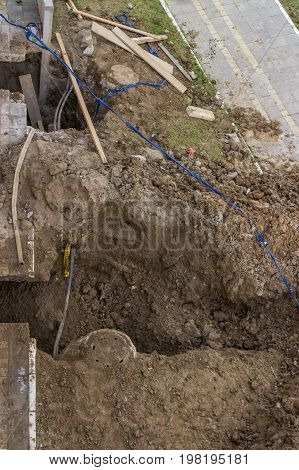 Repair Of Clogged Septic And Sewer Piping