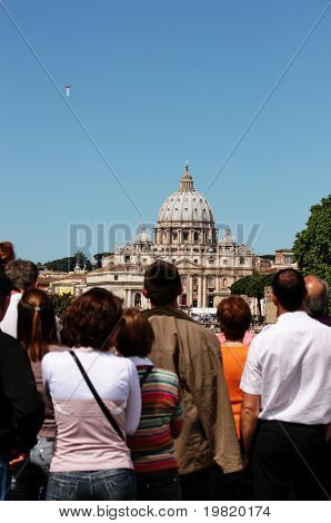 looking at st peter's cathedral