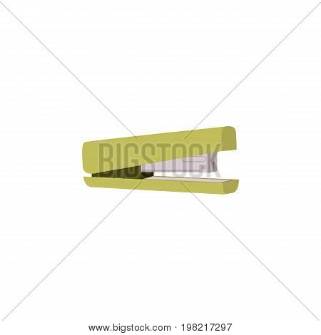 Stapler icon in flat style for web and creative design