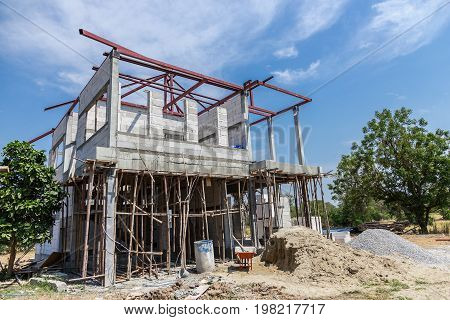 industry construction building autoclaved aerated concrete wall