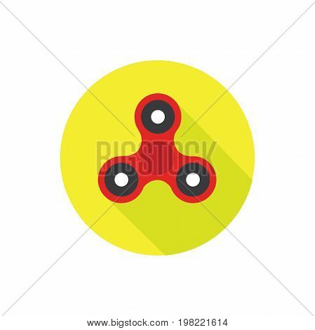 Fidget Spinner - 3 pronged hand toy spun by the center with fingers