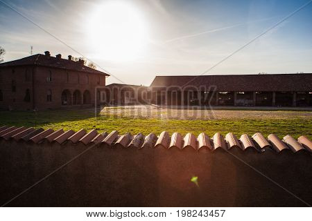 Cascina is a Italian type of rural building traditional of the Po Valley and Lombardy
