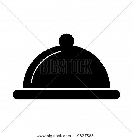 tray server isolated icon vector illustration design