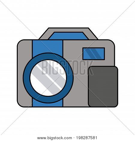 photographic camera icon image vector illustration design