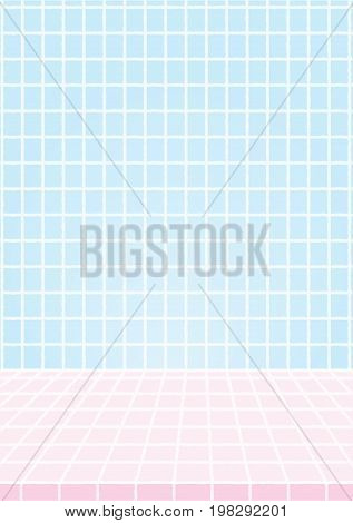 Vector Abstract tiled background, Background Vector Illustration