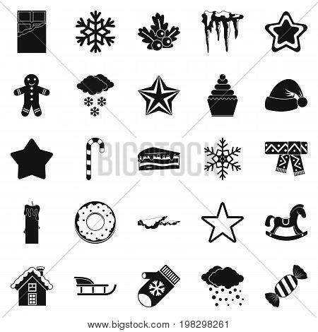 Shrine icons set. Simple set of 25 shrine vector icons for web isolated on white background