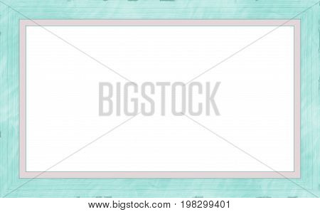 Sea Green Weathered Wood Photo Painting Picture Frame