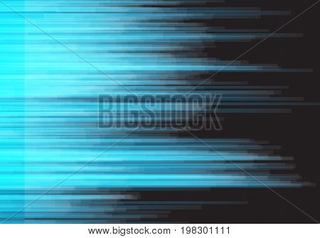 Illustration of Digital Glitch Vector Background. Vector Distorted Signal Big Data Damage