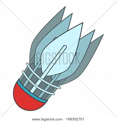 Archery arrows icon. Cartoon illustration of archery arrows vector icon for web design