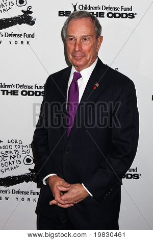 NEW YORK - DECEMBER 06:  Michael Bloomberg   attend the 20th Anniversary Celebration of the Children's Defense Fund's Beat the Odds Program at Guastavino's on December 6, 2010 in New York City.