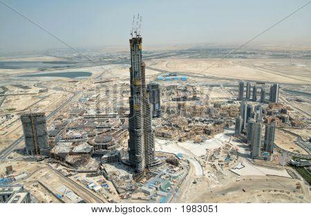 Burj Dubai In The Emirates