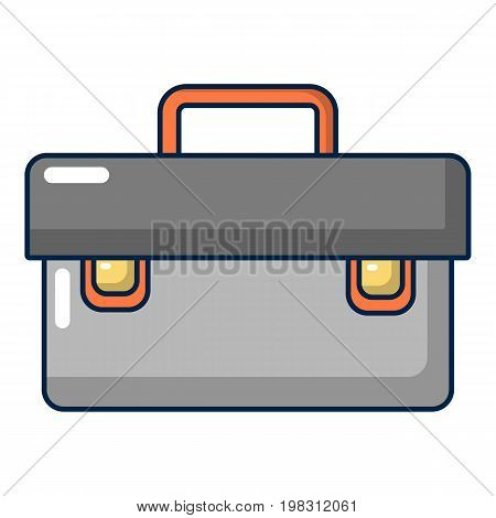 Plumber case icon. Cartoon illustration of plumber case vector icon for web design