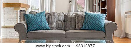 Cosy Grey Sofa