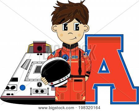 A Is For Astronaut 2
