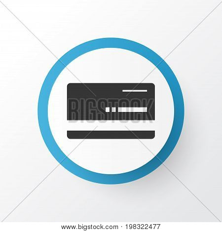 Premium Quality Isolated Mastercard Element In Trendy Style.  Bank Card Icon Symbol.