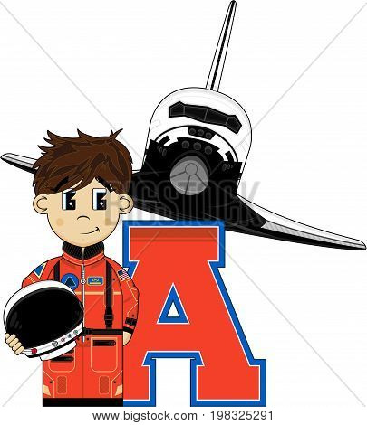 A Is For Astronaut 3