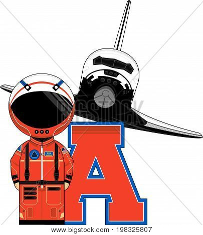 A Is For Astronaut 5