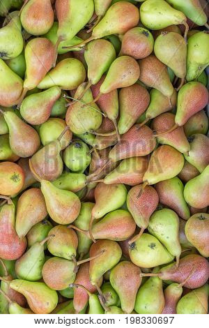 Farmers Market Pears Background