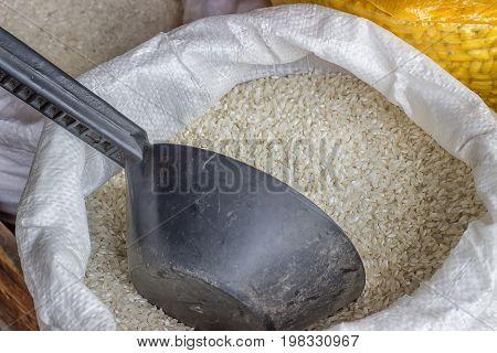 Farmers Market Rice Sack 2