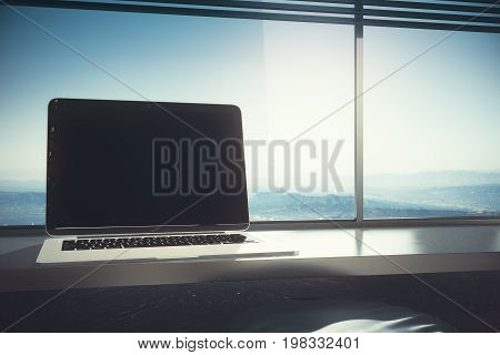 Laptop With Copy Space