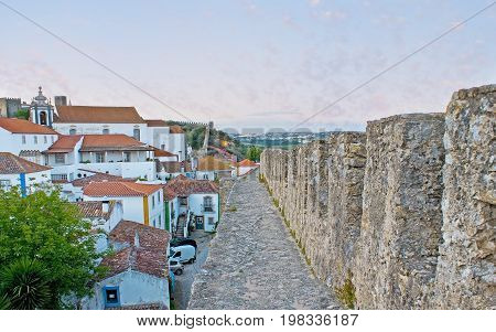The Interesting Walk In Obidos