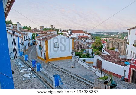 Walk Along Obidos City Walls