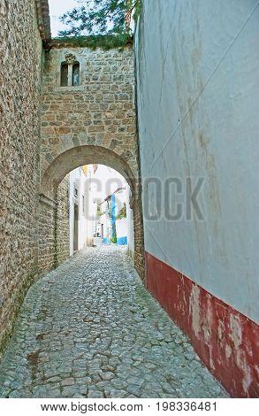 Jewish Quarter Of Obidos