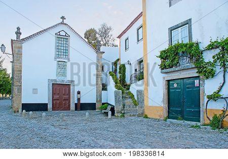 Church Of St John The Baptist In Obidos
