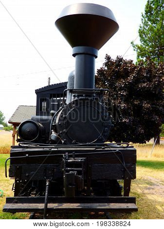 1800s era steam engine- a tribute to the Industrial Revolution
