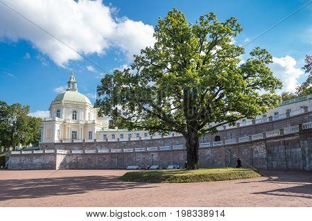 The Grand Menshikov Palace in Oranienbaum Saint-Petersburg Russia