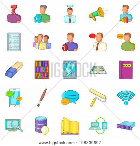 Remittance icons set. Cartoon set of 25 remittance vector icons for web isolated on white background