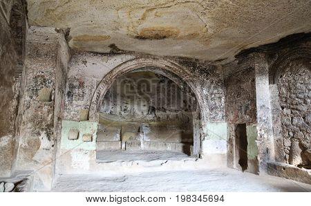 Inside Of Church Of St. John The Baptist, Cappadocia, Turkey