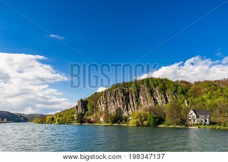 Messe River Landscape Summer Day View, Namur