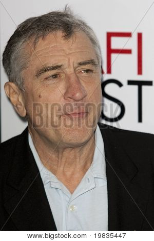 HOLLYWOOD, CA. - NOVEMBER 3: Robert De Niro attends the AFI Fest premier of Everybody's Fine  at The Grauman's Chinese Theater on November 3, 2009 in Hollywood.