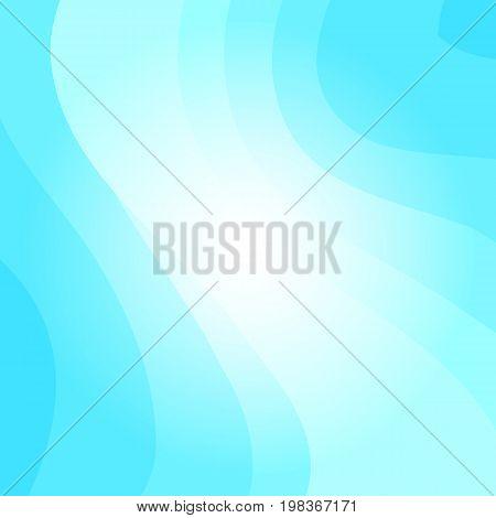 Blue Wavy Vector Background
