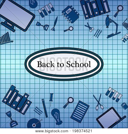 Pattern of welcome back to school . Back To School Background. Back to school super shopping. Super sale.