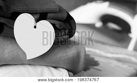 Cloth Label Tag Blank White Mockup