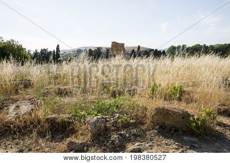 Temple of the Dioscuri - Valley of the Temples Agrigento Sicily Italy - May 22nd 2017