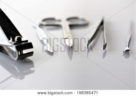 A image of nail manicure, spa, fingernails