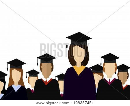 Education infographic. Flat illustration for e-learning and online education.