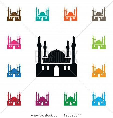 Religion Vector Element Can Be Used For Culture, Mosque, Religion Design Concept.  Isolated Culture Icon.