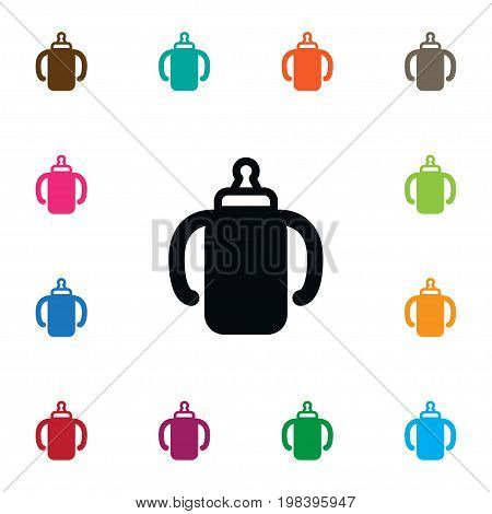 Beverage Vector Element Can Be Used For Beverage, Container, Bottle Design Concept.  Isolated Container Icon.