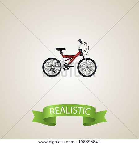 Realistic Teenager Element. Vector Illustration Of Realistic Adolescent Isolated On Clean Background