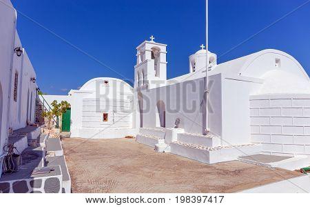 Agios Ioannis Siderianos monastery, Milos island, Greece