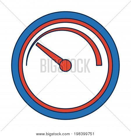 tachometer speedometer and indicator performance measurement symbol vector illustration