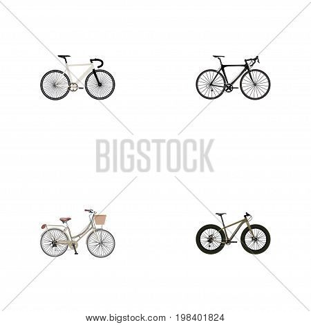 Realistic Road Velocity, Brand , Exercise Riding Vector Elements