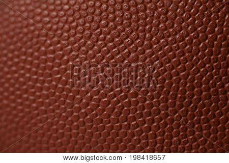 Full frame shot of American football