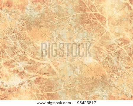 Vintage fall background - abstract autumn pattern in soft light beige colors