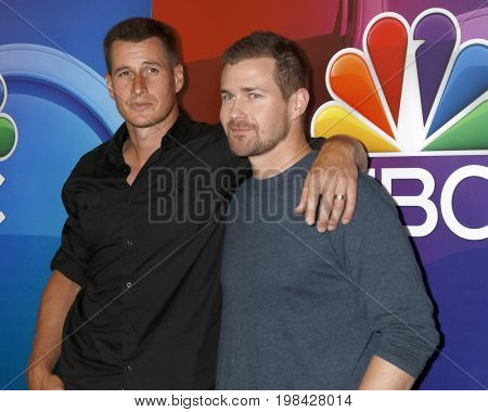LOS ANGELES - AUG 3:  Brendan Fehr, Josh Kelly at the NBC TCA Press Day Summer 2017 at the Beverly Hilton Hotel on August 3, 2017 in Beverly Hills, CA