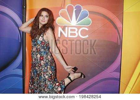 LOS ANGELES - AUG 3:  Debra Messing at the NBC TCA Press Day Summer 2017 at the Beverly Hilton Hotel on August 3, 2017 in Beverly Hills, CA